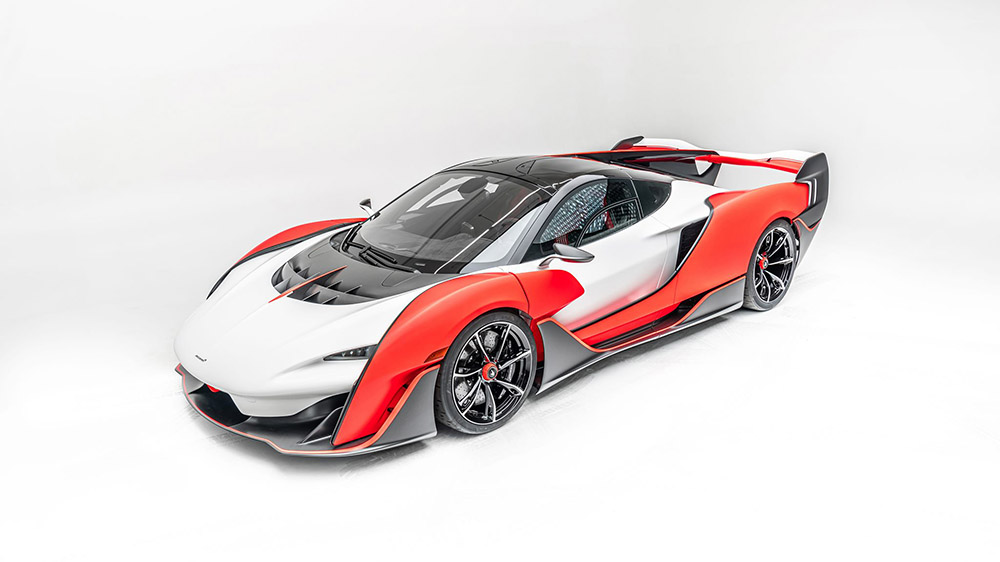 McLaren Sabre is the fastest two-seat McLaren ever