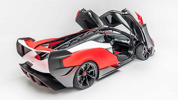 McLaren Sabre is snelste tweezits McLaren ooit